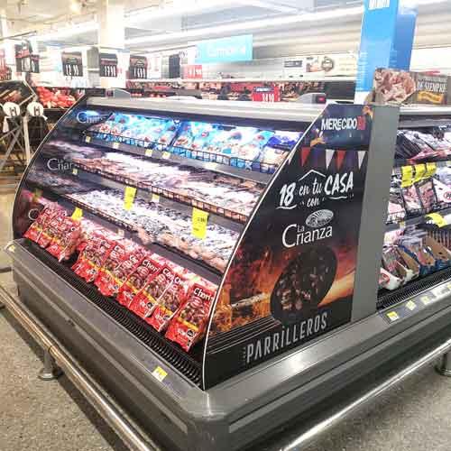 Implementación en Supermercados
