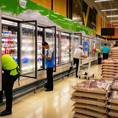 Personal para supermercado